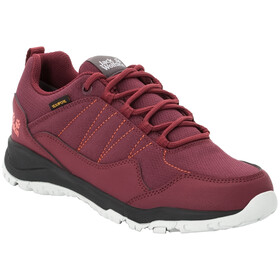 Jack Wolfskin Maze Texapore Low Schuhe Damen burgundy/phantom